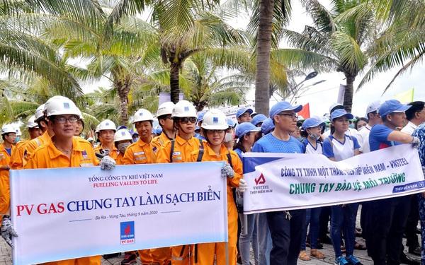 """PV GAS: Chung tay hưởng ứng chiến dịch """"Làm cho thế giới sạch hơn"""" năm 2020"""