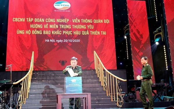 Cán bộ, nhân viên Viettel quyên góp 10 tỷ đồng hỗ trợ đồng bào miền Trung