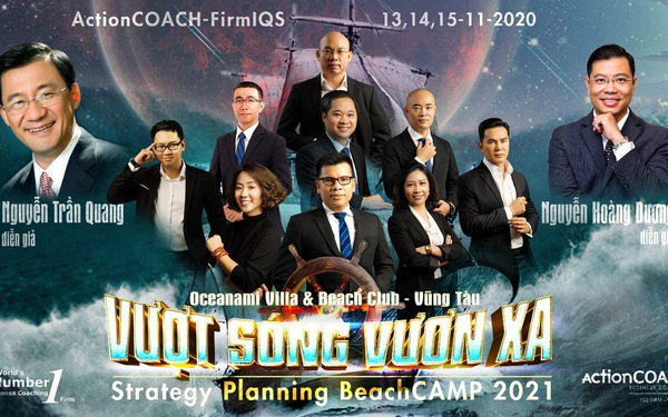 """Lập chiến lược và kế hoạch kinh doanh Beachcamp 2021 – """"Vượt sóng vươn xa"""""""