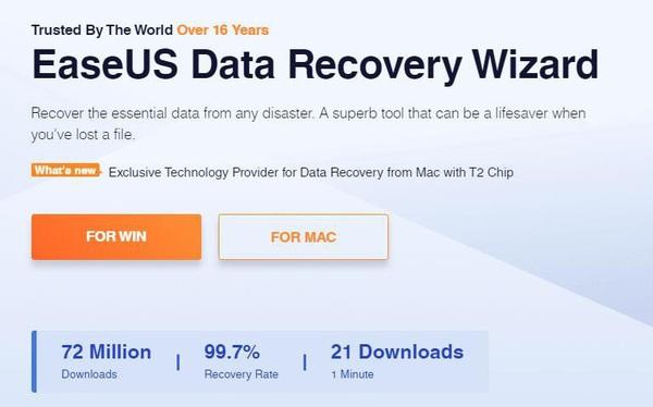 Phục hồi dữ liệu với phần mềm EaseUS Data Recovery Wizard (miễn phí)