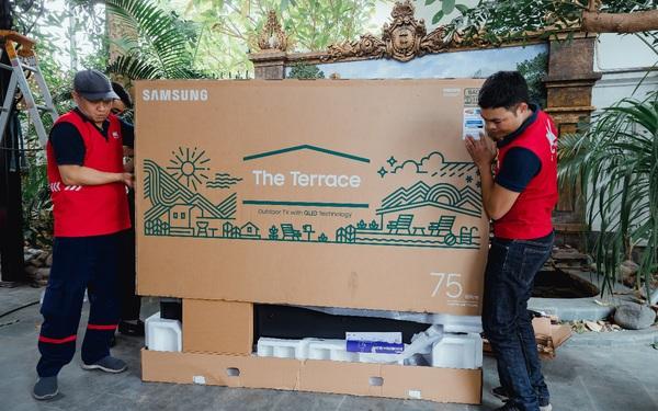 Đã có người Việt đầu tiên sở hữu siêu phẩm giải trí ngoài trời từ Samsung