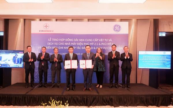 EVNGENCO 3 và GE ký kết hợp đồng cung cấp vật tư và dịch vụ cho nhà máy điện Phú Mỹ 2.1, Phú Mỹ 4