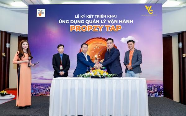 V V C Green ứng dụng giải pháp quản lý vận hành Propzy Tap cho 10 dự án quy mô lớn tại Hà Nội