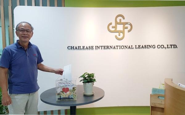 Chailease ủng hộ người dân chịu thiệt hại của dịch bệnh, bão lũ tại Miền Trung