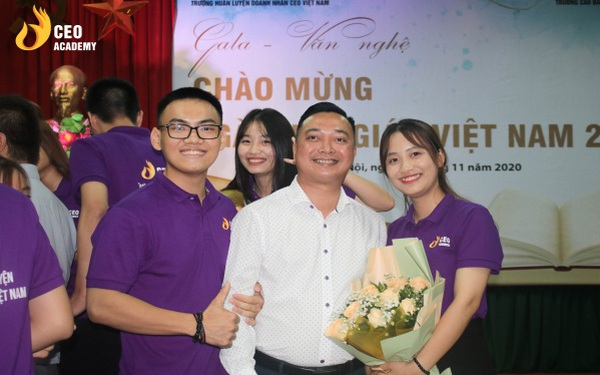Sự thật về người thầy doanh nhân của Trường doanh nhân CEO Việt Nam: Điều hành doanh nghiệp nghìn tỷ và mong cống hiến cho giáo dục