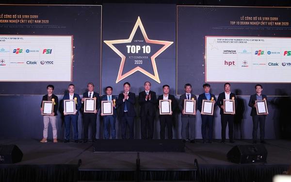 Base.vn nhận cú đúp giải thưởng Chuyển Đổi Số tại Top 10 Doanh nghiệp CNTT 2020