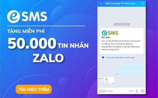 """Tiếp sức doanh nghiệp: """"ViHAT tặng 50000 tin nhắn Zalo giúp chăm sóc khách hàng hiệu quả hơn"""""""