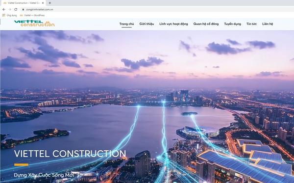 Tổng Công trình Viettel nâng cấp website mới, hiện đại và tối ưu
