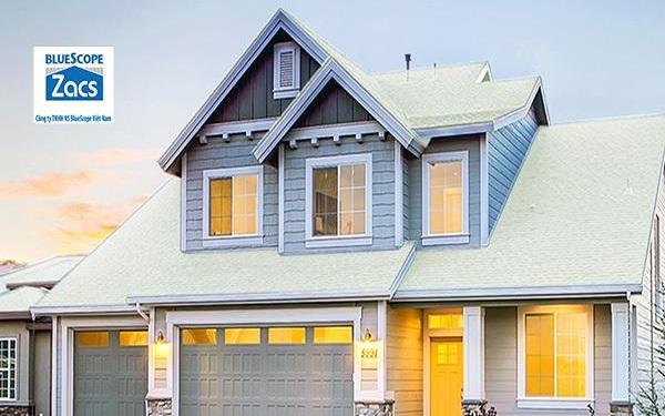 Những khu vực nhà nên chọn tôn cách nhiệt để lợp mái