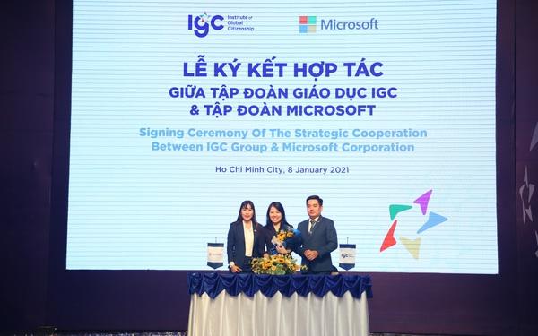 """IGC với tầm nhìn trở thành """"Tập đoàn Giáo dục chất lượng cao đáng tin cậy hàng đầu Việt Nam"""""""