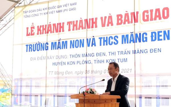 PV GAS tài trợ 12 tỷ đồng xây dựng trường học Kon Tum|