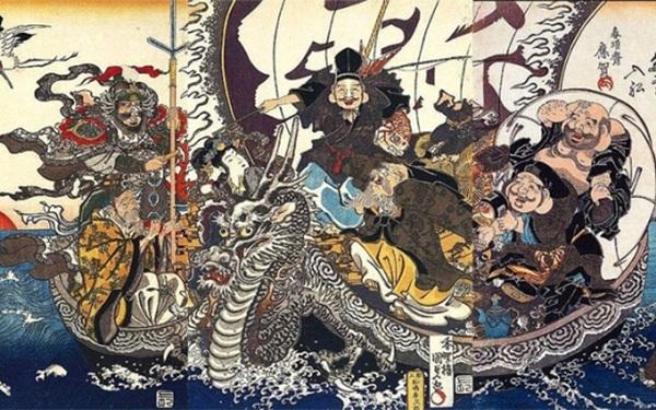 """Chiếc """"Bảo thuyền"""" Takarabune: Chuyên chở phước lành – gửi trao tâm ý"""