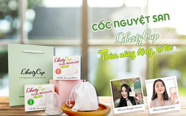 """Cốc nguyệt san Liberty Cup: Giải pháp ngày """"đèn đỏ"""" dành cho người phụ nữ Việt"""