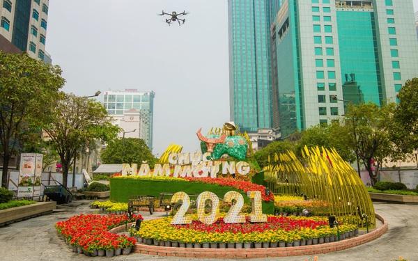 AGS Technology và dự án Số hóa Đường hoa Nguyễn Huệ Tết Tân Sửu 2021