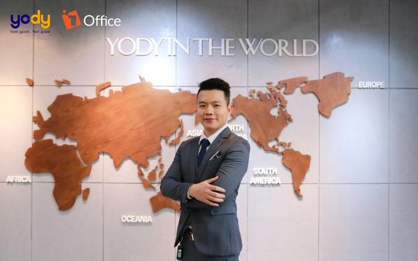 Yody ứng dụng 1Office quản trị nguồn nhân lực và quy trình công việc