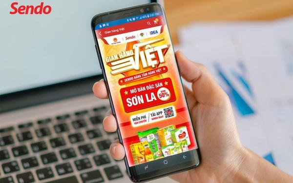 Sendo mở lối cho đặc sản Sơn La đến khách hàng trên toàn quốc