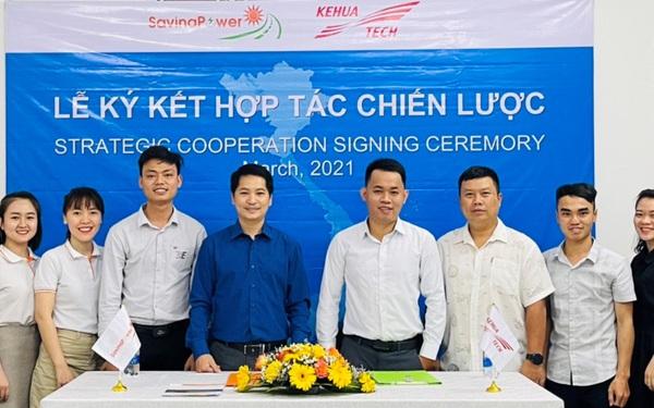 CTCP Năng Lượng Savina ký kết hợp tác chiến lược với NSX Inverter Kehua