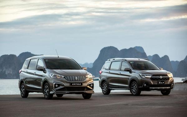 Suzuki XL7 và Ertiga