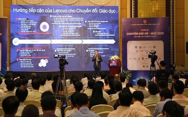 Đại diện Lenovo: Chung tay thúc đẩy chuyển đổi số trong giáo dục tại Việt Nam