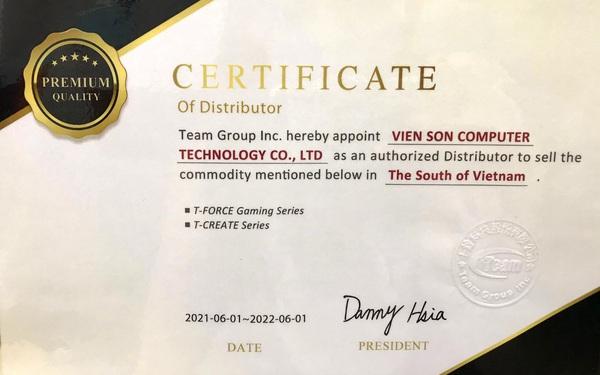 Cộng tác với Viễn Sơn, Teamgroup mở rộng kinh doanh tại thị trường Việt Nam