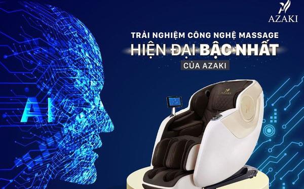 Trải nghiệm massage toàn diện với bộ sản phẩm đến từ thương hiệu Azaki