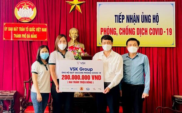 VSK Group đồng hành cùng Việt Nam trong cuộc chiến chống dịch Covid