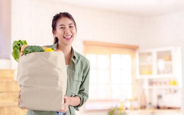 Bùng nổ mua sắm thực phẩm online thời Covid