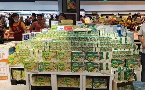 Sữa đậu nành Fami và mốc son trên  hành trình chinh phục thị trường quốc tế.