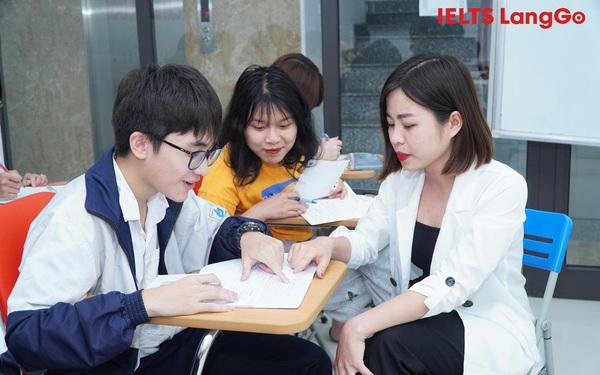 Cùng giảng viên Diệu Hoa LangGo học IELTS bằng phương pháp thay đổi tư duy