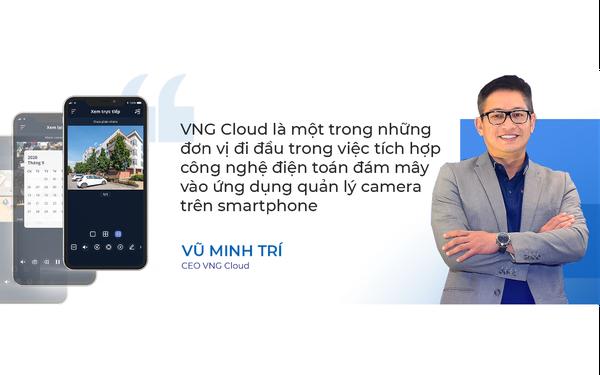 vCloudcam – Giải pháp camera toàn diện cho gia đình Việt trên smartphone từ VNG Cloud