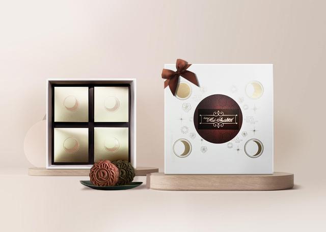 """Cảm hứng phương Đông trong thiết kế hộp bánh Trung Thu 2020: """"Fusion"""" truyền thống, hiện đại - Ảnh 3."""