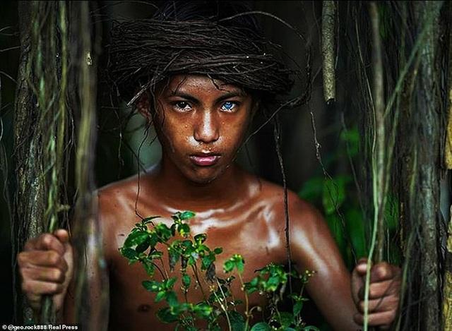 Sự thật đằng sau những đôi mắt xanh tuyệt đẹp phát sáng trong đêm tối của người dân bộ tộc mắt biếc kỳ lạ - Ảnh 5.