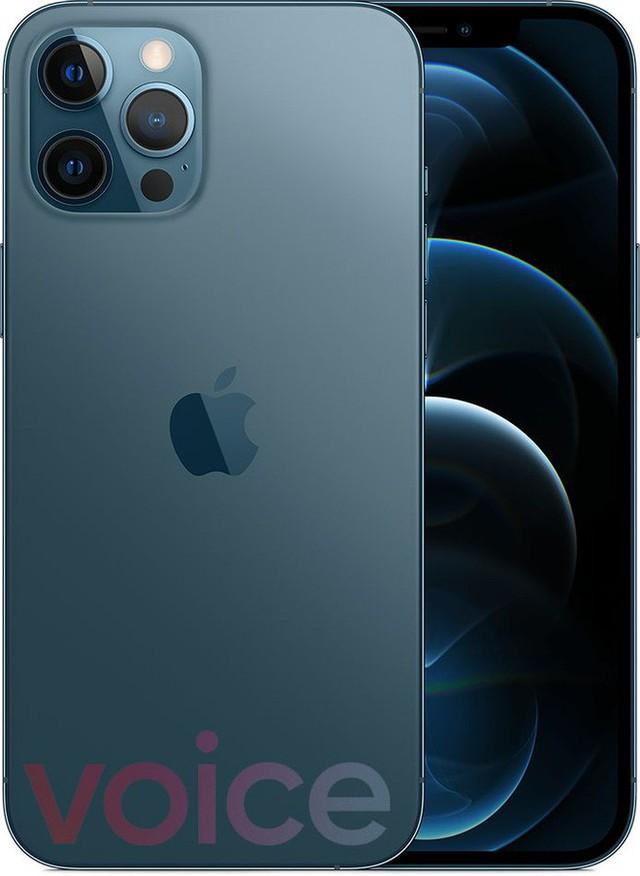 Loạt iPhone 12 lộ ảnh render trước giờ ra mắt, có màu xanh biển hoàn toàn mới - Ảnh 1.