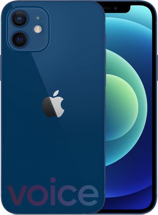 Loạt iPhone 12 lộ ảnh render trước giờ ra mắt, có màu xanh biển hoàn toàn mới - Ảnh 5.