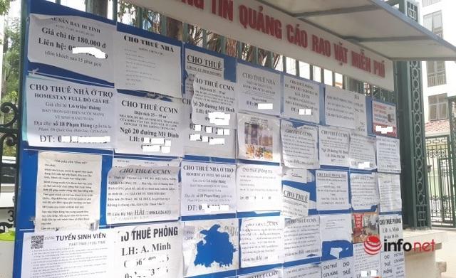 Hà Nội: Nhà trọ dưới 2 triệu đồng khan hiếm, chung cư mini sẵn hàng - Ảnh 1.
