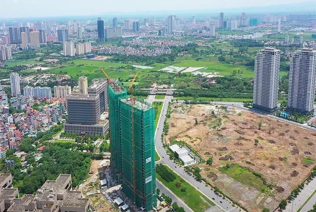 Giá căn hộ chung cư ven trung tâm Hà Nội được đẩy lên 50-60 triệu đồng/m2 - Ảnh 1.