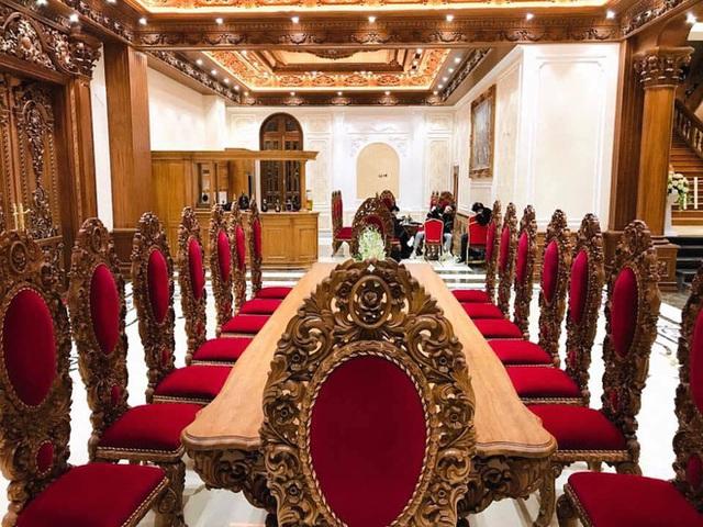 Đại gia Tuyên Quang và lễ ăn hỏi trong lâu đài dát vàng lộng lẫy đến nghẹt thở  - Ảnh 11.