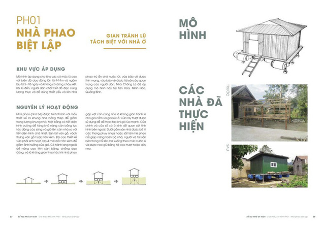 Một lần nữa, những căn nhà phao trong dự án Nhà Chống Lũ phát huy tác dụng tại Quảng Bình - Ảnh 9.