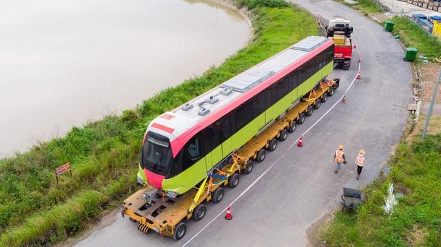 Đoàn tàu metro Nhổn - Ga Hà Nội đã về depot Nhổn - Ảnh 5.
