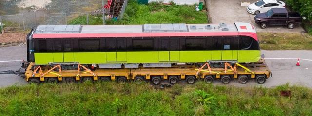Đoàn tàu metro Nhổn - Ga Hà Nội đã về depot Nhổn - Ảnh 6.