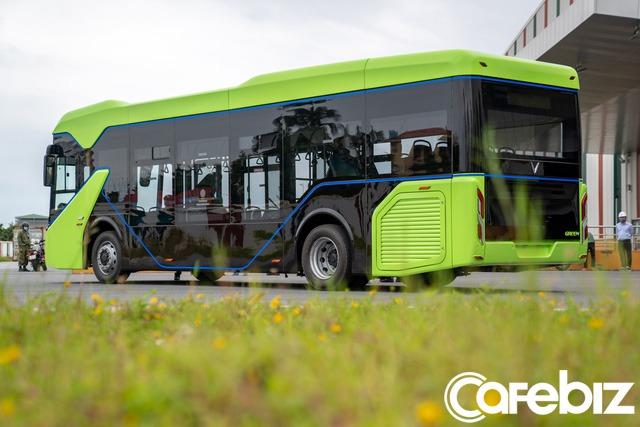 Vingroup chính thức chạy thử nghiệm xe buýt điện VinFast - Ảnh 3.