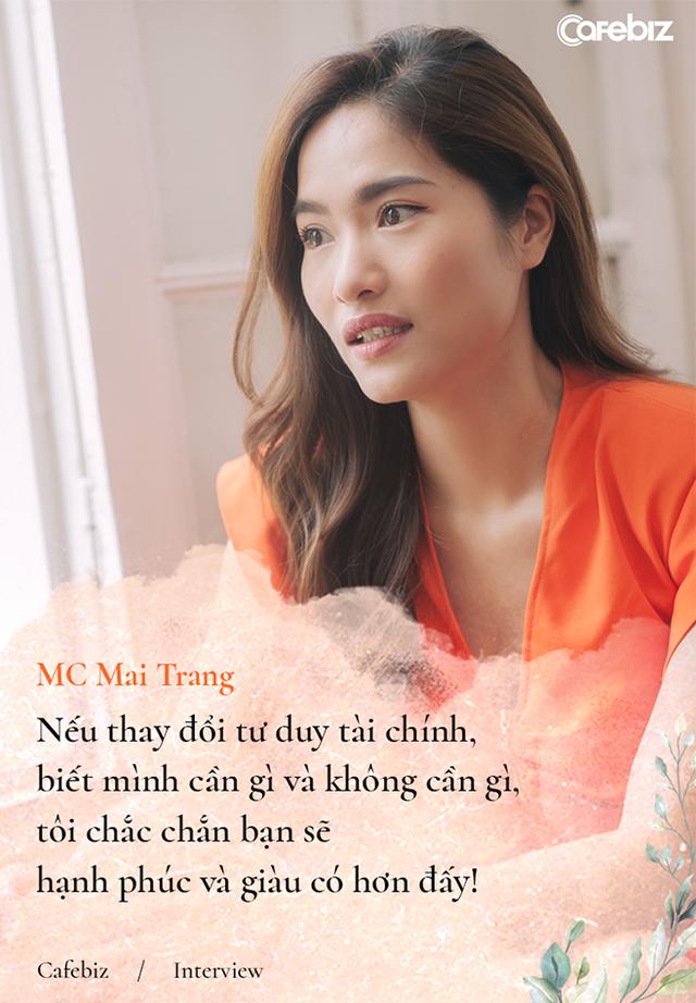 Từng đi shopping tiêu hết 10-15 triệu đồng một lúc, MC Mai Trang: Đừng theo đuổi tự do tài chính, hãy theo đuổi tự tin tài chính! - Ảnh 4.