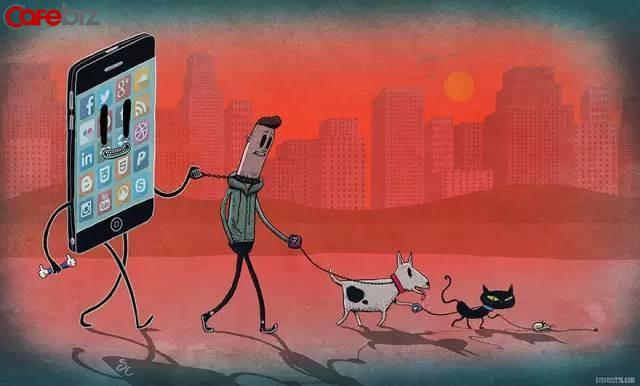 Cách ngược đãi cơ thể kinh khủng nhất chính là cắm mặt vào màn hình điện thoại: Sống vui vẻ trong thế giới thực, tập thể dục, quản lý cảm xúc... mới mong trường thọ!  - Ảnh 3.