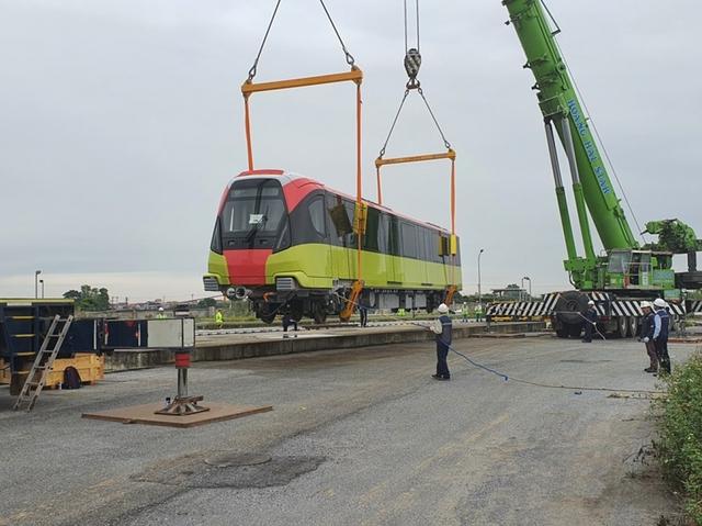 """Tàu Nhổn - ga Hà Nội bắt đầu chạy """"không tải"""", tháng 4/2021 sẽ chở khách?  - Ảnh 1."""