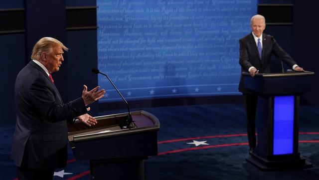 Trump hạ giọng cuộc tranh luận cuối: Nỗ lực phút chót để lội ngược dòng?  - Ảnh 1.