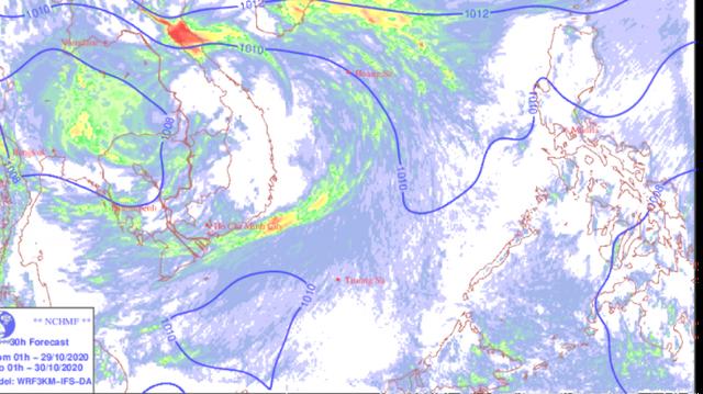 Không khí lạnh tăng cường, mưa lớn ở các tỉnh từ Thanh Hóa đến Bắc Tây Nguyên  - Ảnh 1.