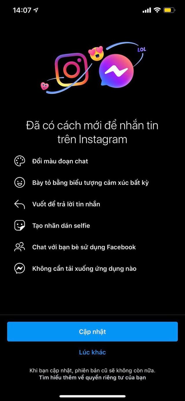 Messenger Facebook và Instagram gộp chung: Tưởng hay ho thú vị nhưng hoá ra chỉ toàn gây lú mà thôi! - Ảnh 2.