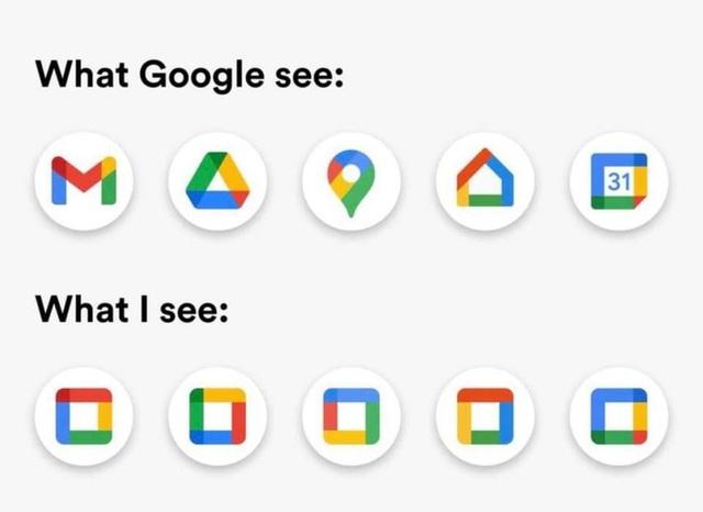 Bộ nhận diện mới của Google: Cạn kiệt sức sáng tạo hay coi thường con mắt người dùng? - Ảnh 4.