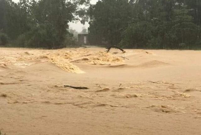 Mưa lớn, thủy điện đồng loạt xả lũ, hàng ngàn nhà dân ở Nghệ An bị ngập sâu  - Ảnh 2.