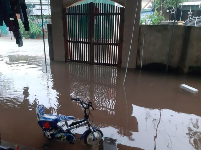 Mưa lớn, thủy điện đồng loạt xả lũ, hàng ngàn nhà dân ở Nghệ An bị ngập sâu  - Ảnh 5.